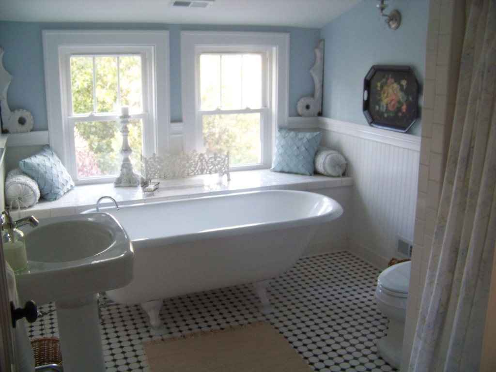 Cottage Fix- our first house bath design