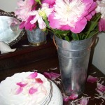peonies from the garden