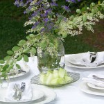 vintage cottage place setting