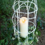DIY cottage garden lantern