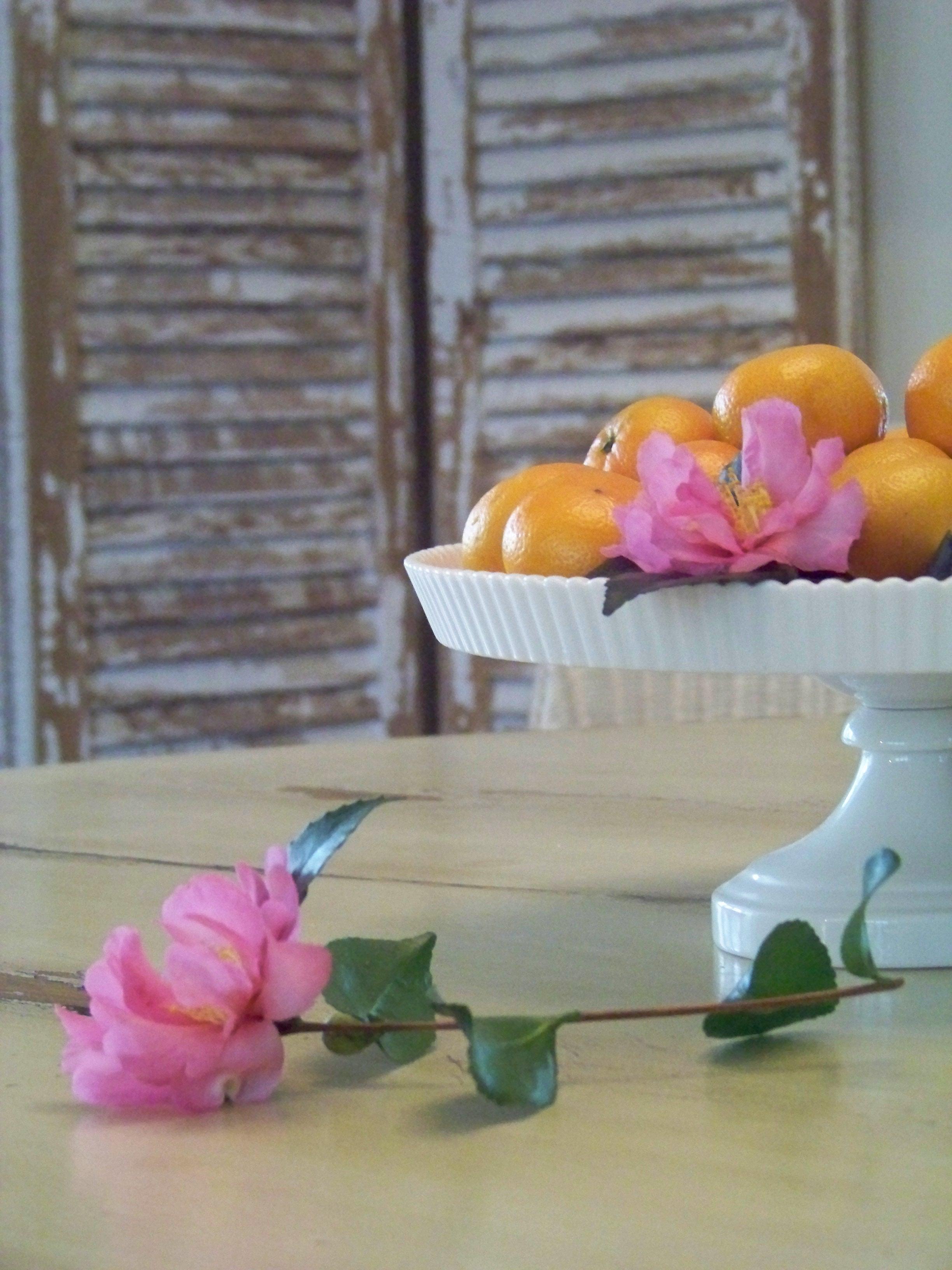 clementine centerpiece