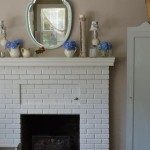 a vintage Summer mantle
