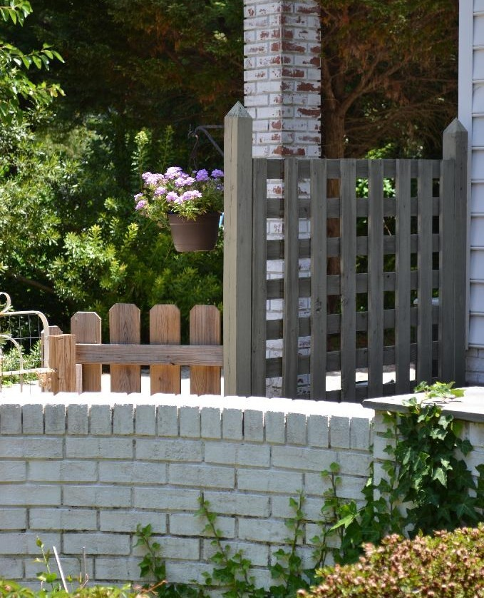 Cottage Fix -side entrance to our back garden