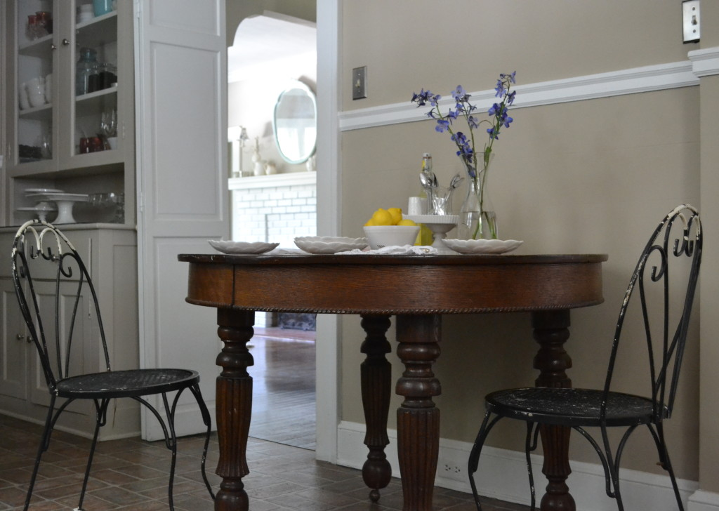 Cottage Fix - kitchen table and chairs