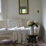 cottage fix meets Paris on the sun porch