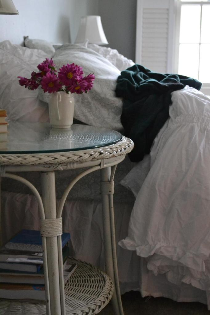 Cottage Fix - shabby chic bedding