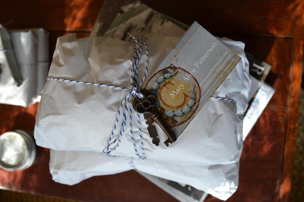 Cottage Fix - package from Mary Alice of Chateau Chic