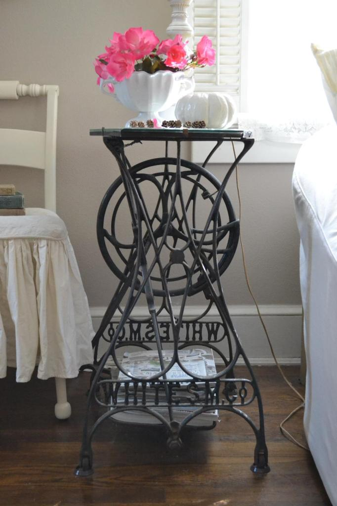 Cottage Fix - iron stone compote from Mary Alice