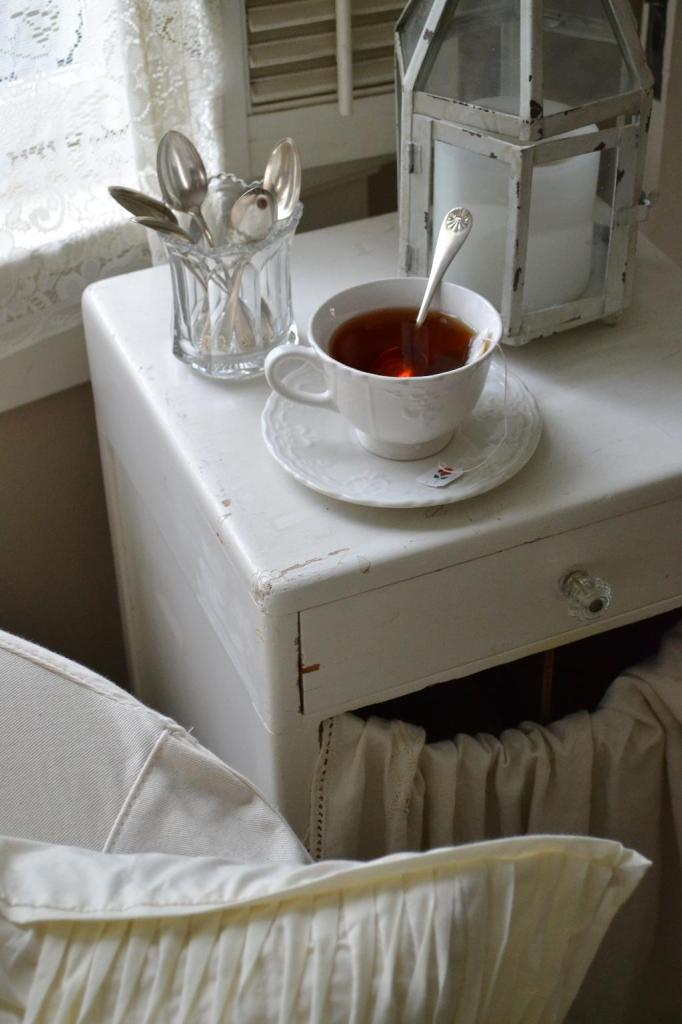 Cottage Fix - beautiful vintage spoons from Mary Alice of Chateau Chic