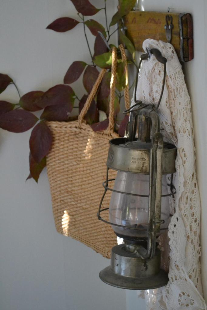 Cottage Fix - vintage lantern accessory