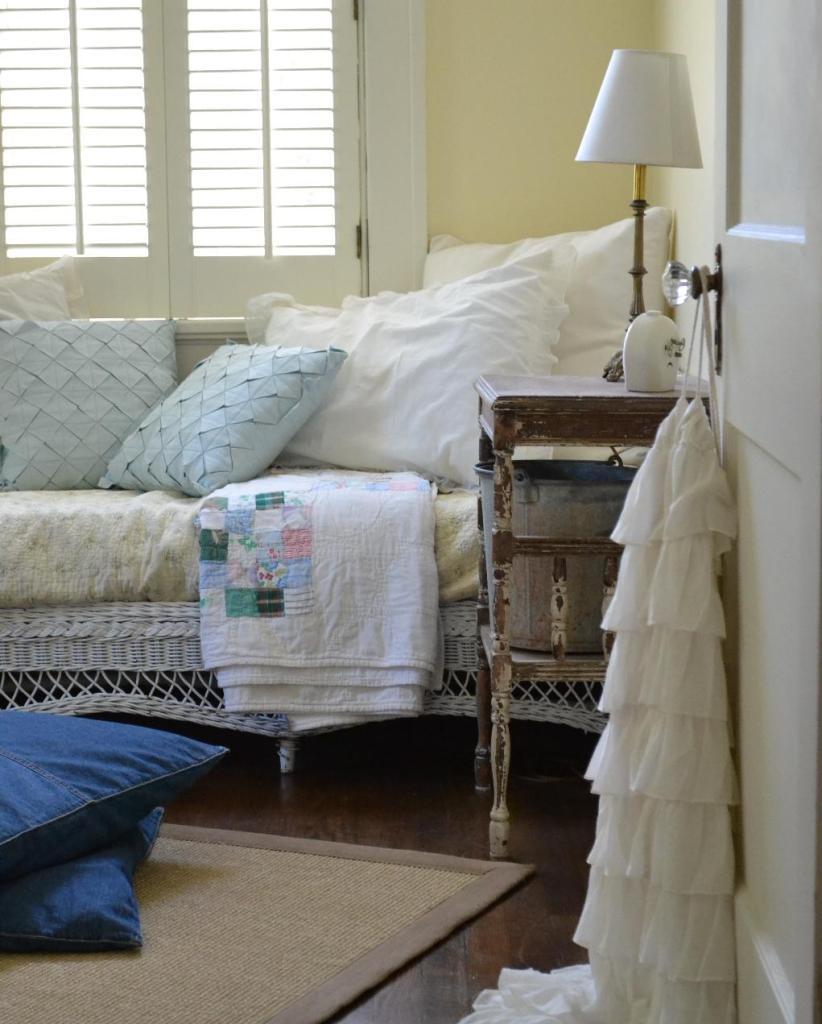 Cottage Fix - colorful multi vintage quilt