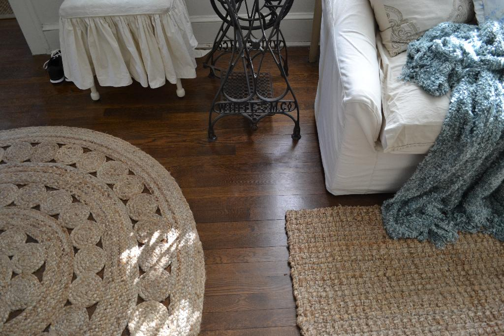 Cottage Fix - natural fiber rugs