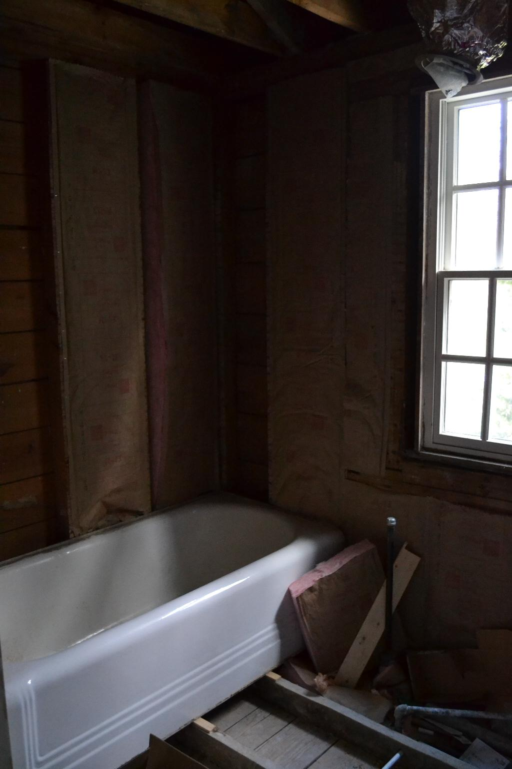 Cottage Fix - behind the scenes of our bath remodel