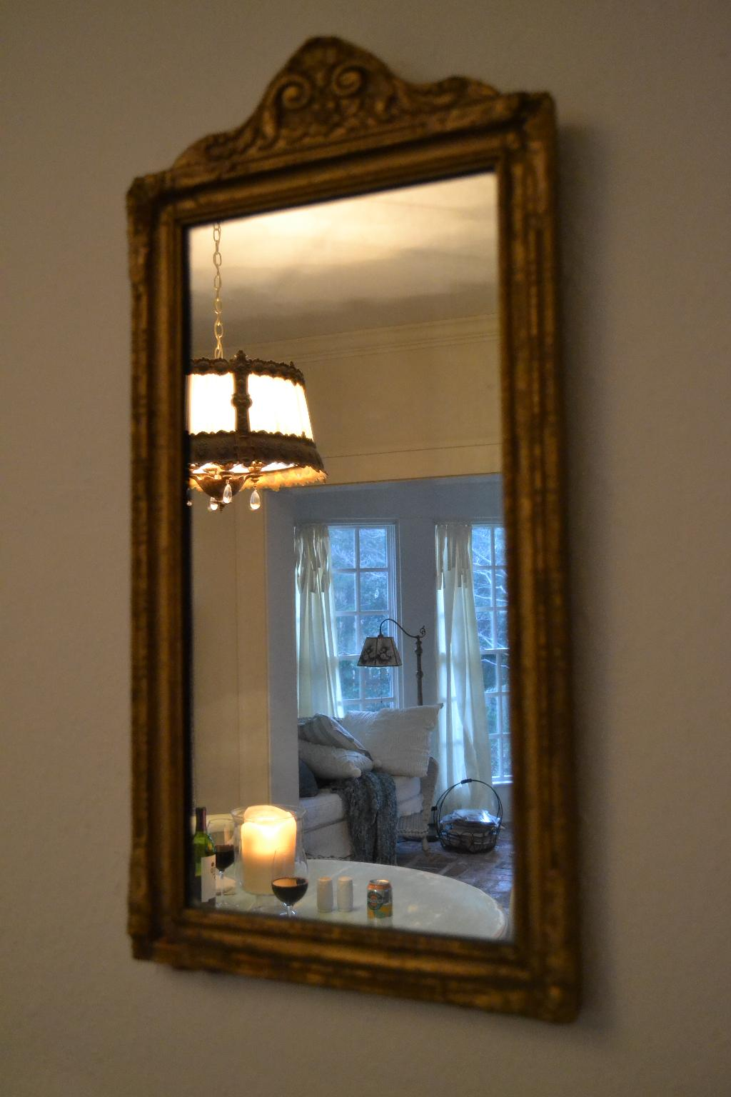 Cottage Fix - dining room reflection