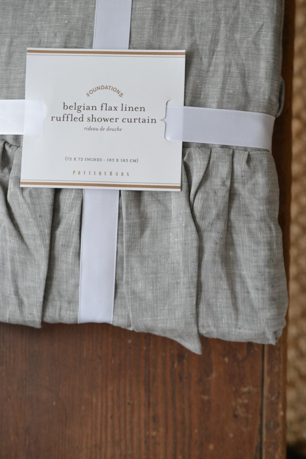 Cottage Fix - Pottery Barn shower curtain