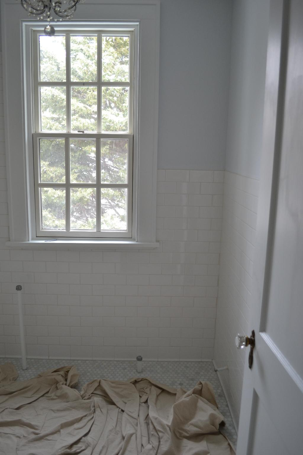 Cottage Fix - bathroom progress