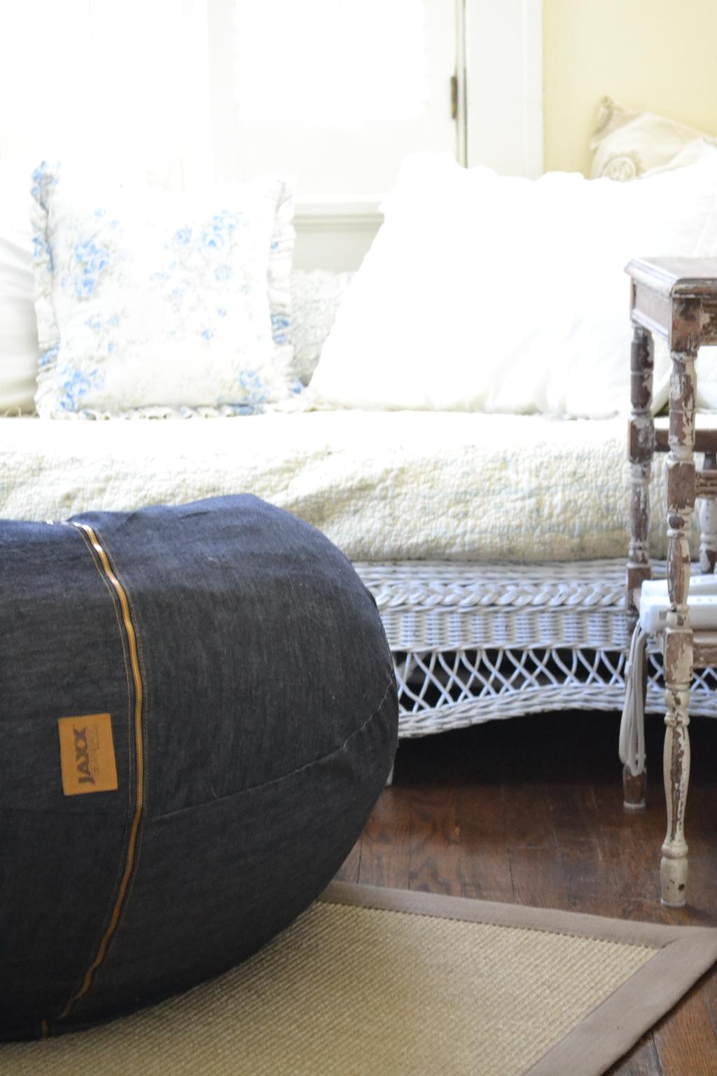 Cottage Fix -  JAXX denim beanbag