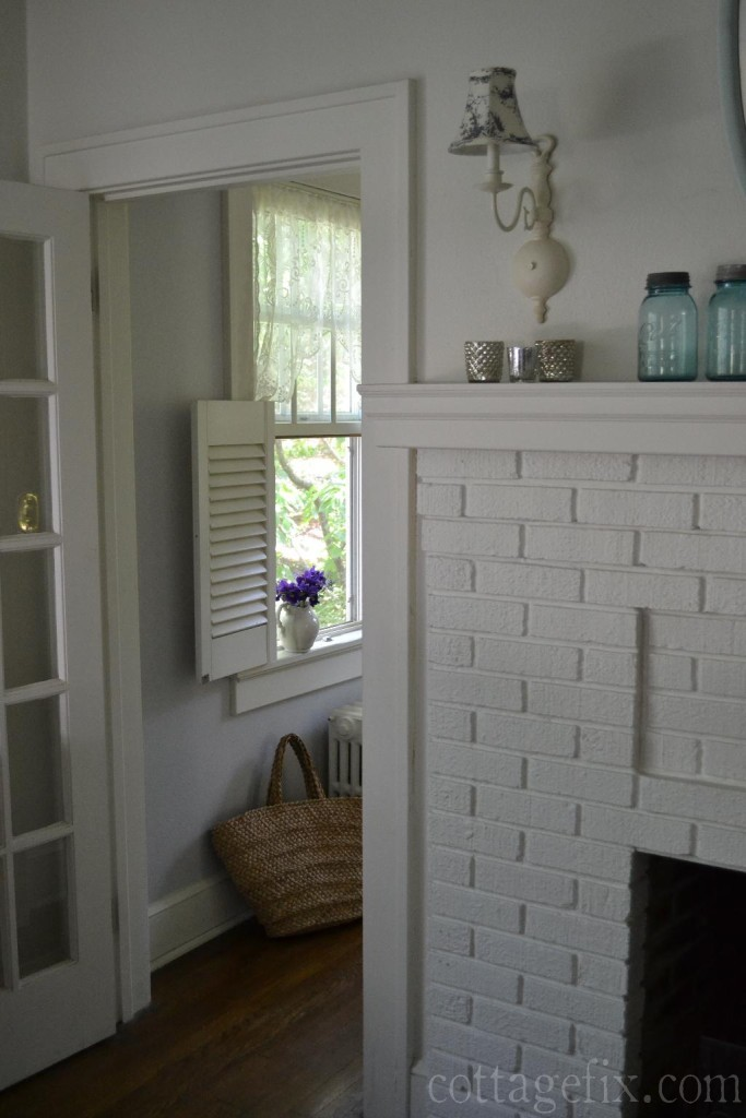 Cottage Fix blog - whites and grays
