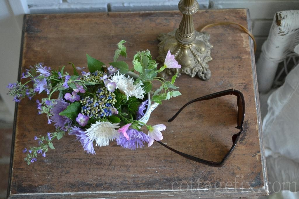 Cottage Fix blog - summer bouquet