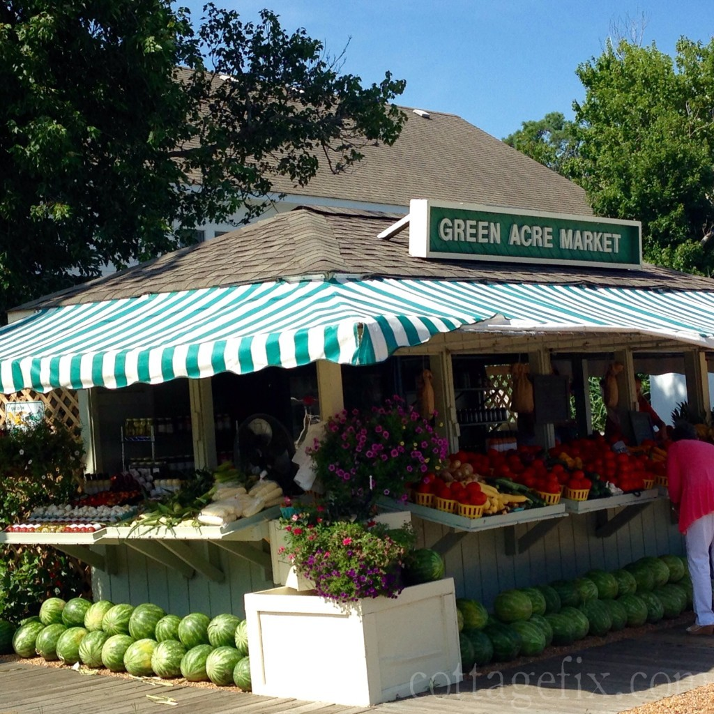 Cottage Fix blog - roadside produce stand in Corolla