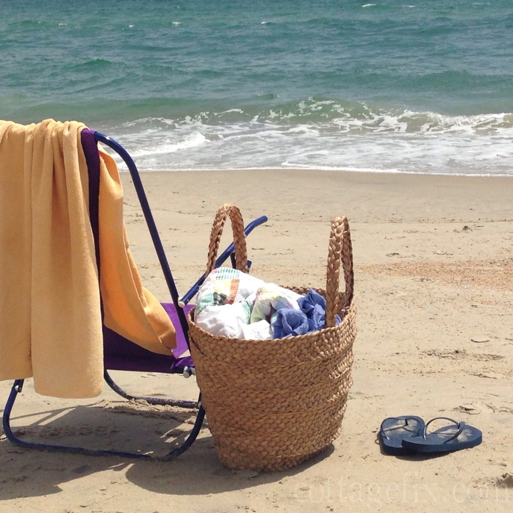 Cottage Fix blog - to the beach!