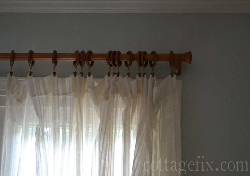 Cottage Fix blog - curtain rings