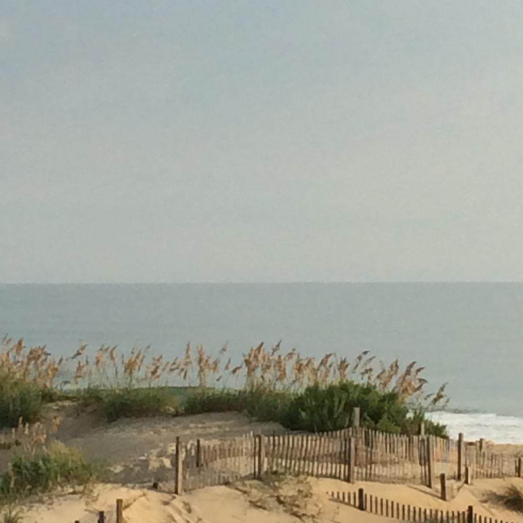 Cottage Fix blog - sand and sea in South Nags Head, NC