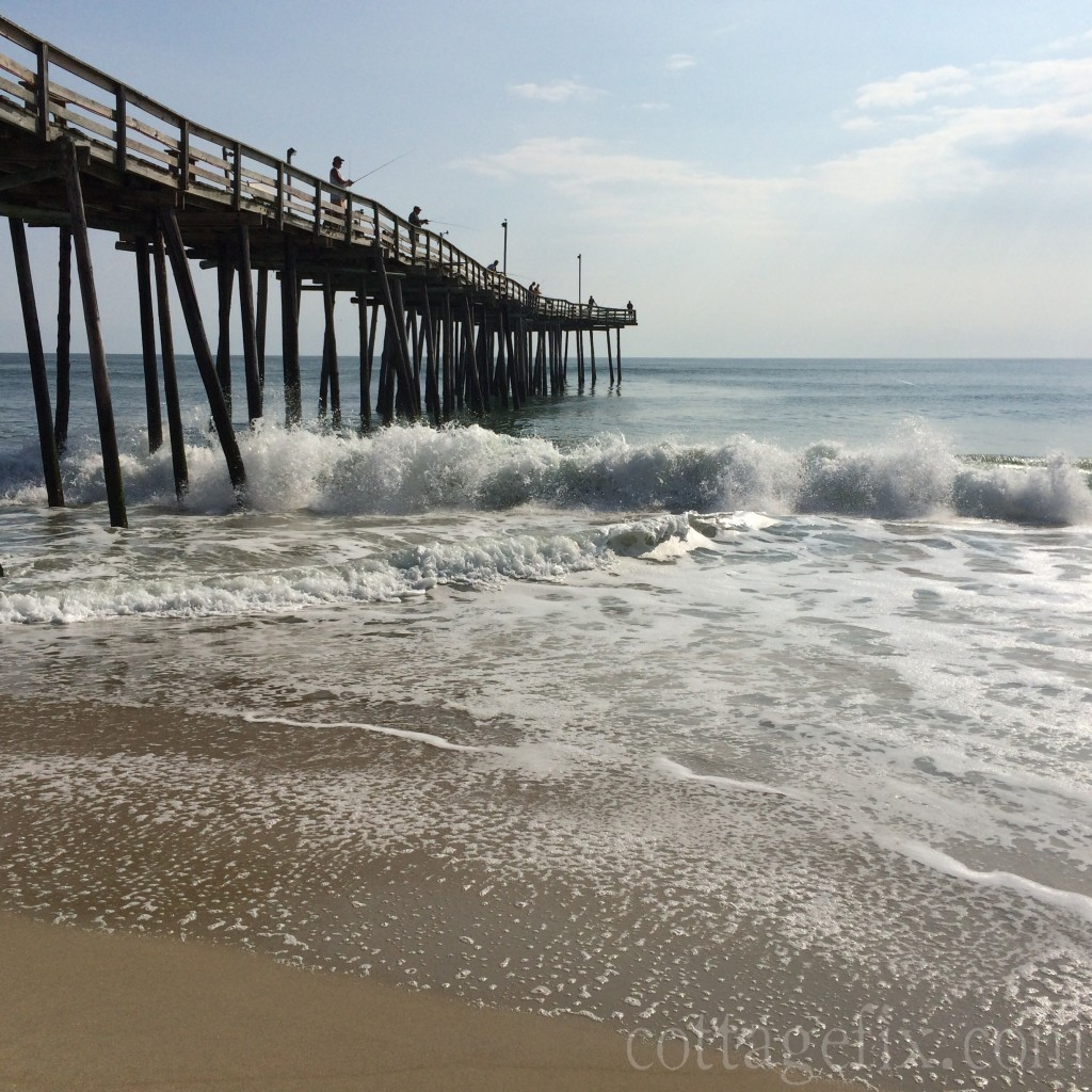 Cottage Fix blog - the pier in South Nags Head, NC