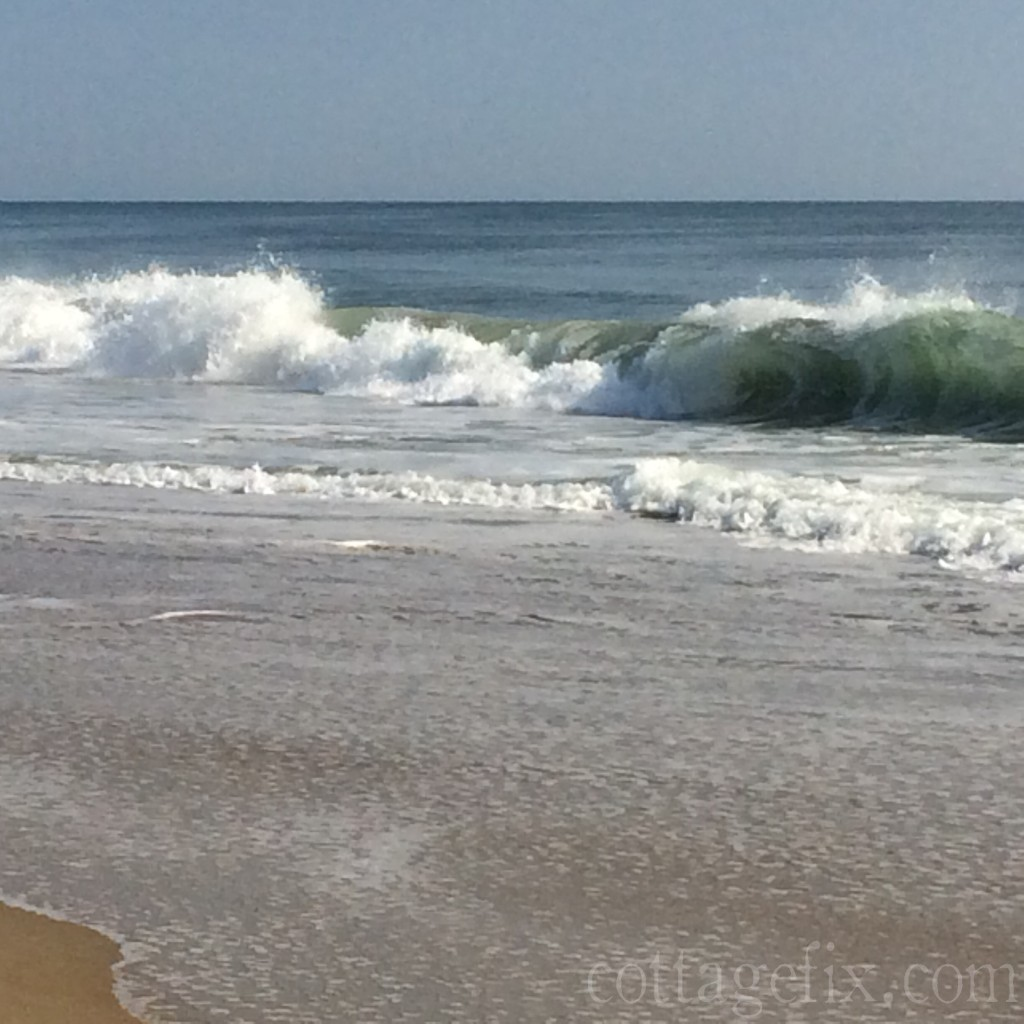 Cottage Fix blog - the Atlantic ocean shore in South Nags Head, NC