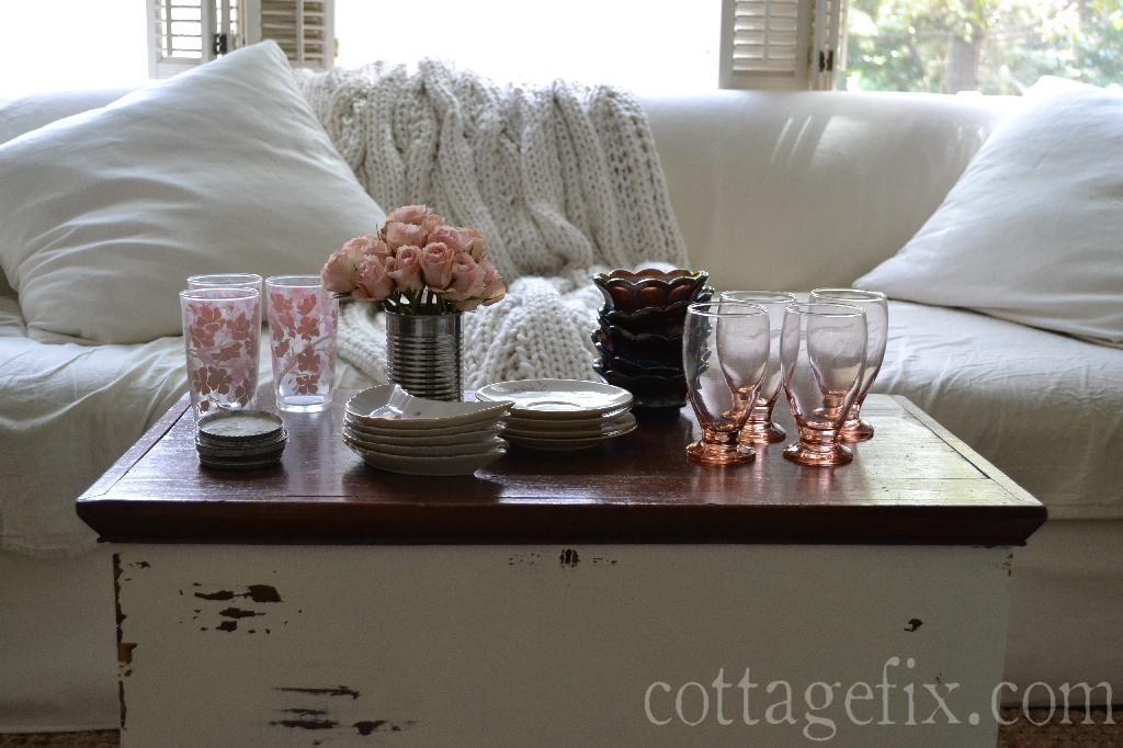 Cottage Fix blog - cottage fix mixes vintage goodies with a dollar store score