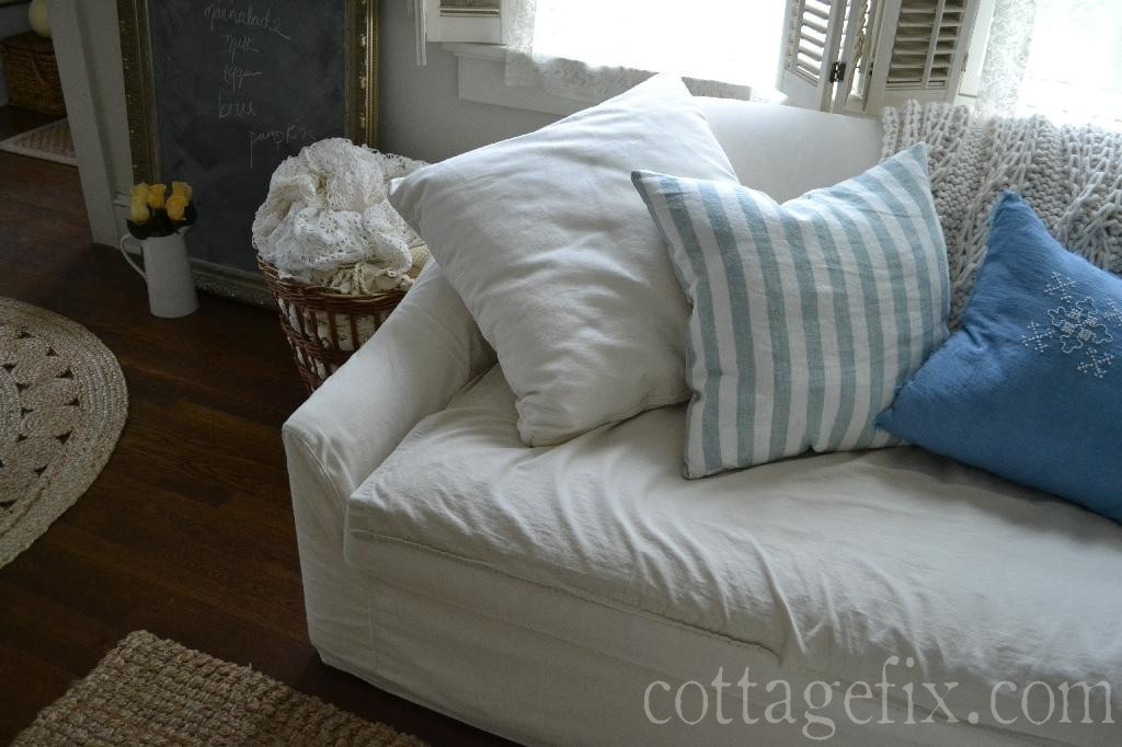 Cottage Fix blog - subtle autumn decorating