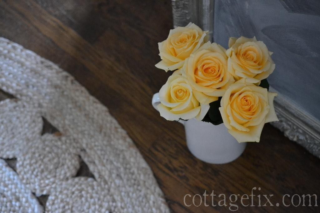 Cottage Fix blog - peach roses