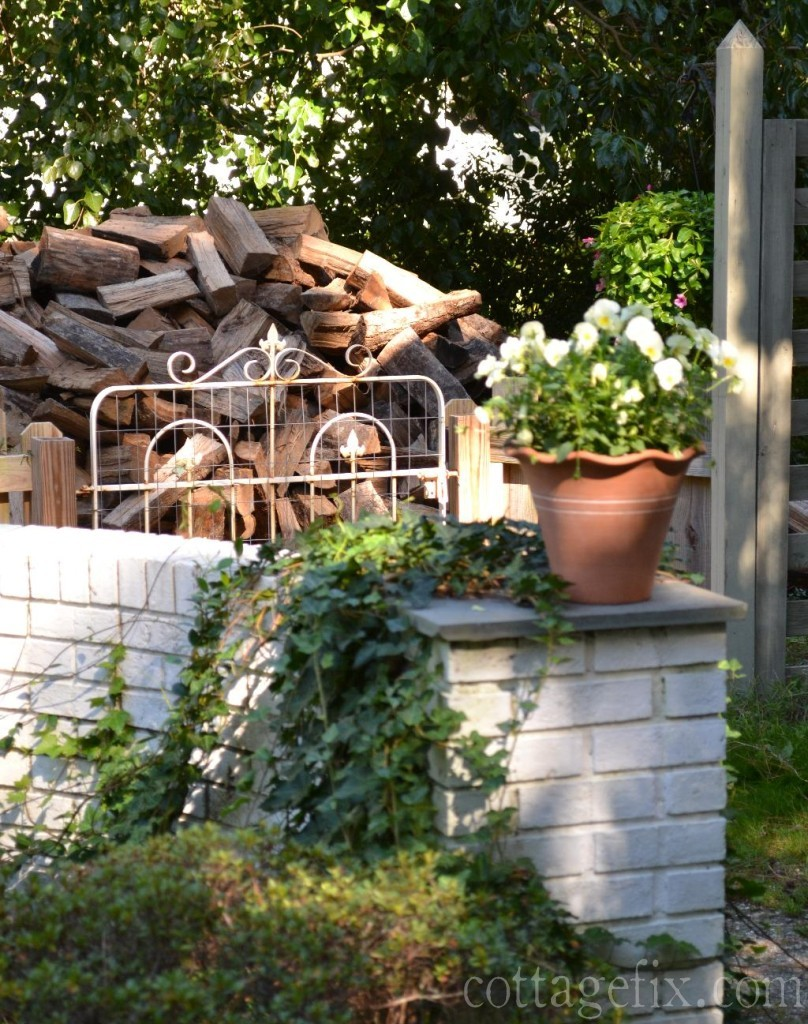 Cottage Fix blog - fall planting and firewood
