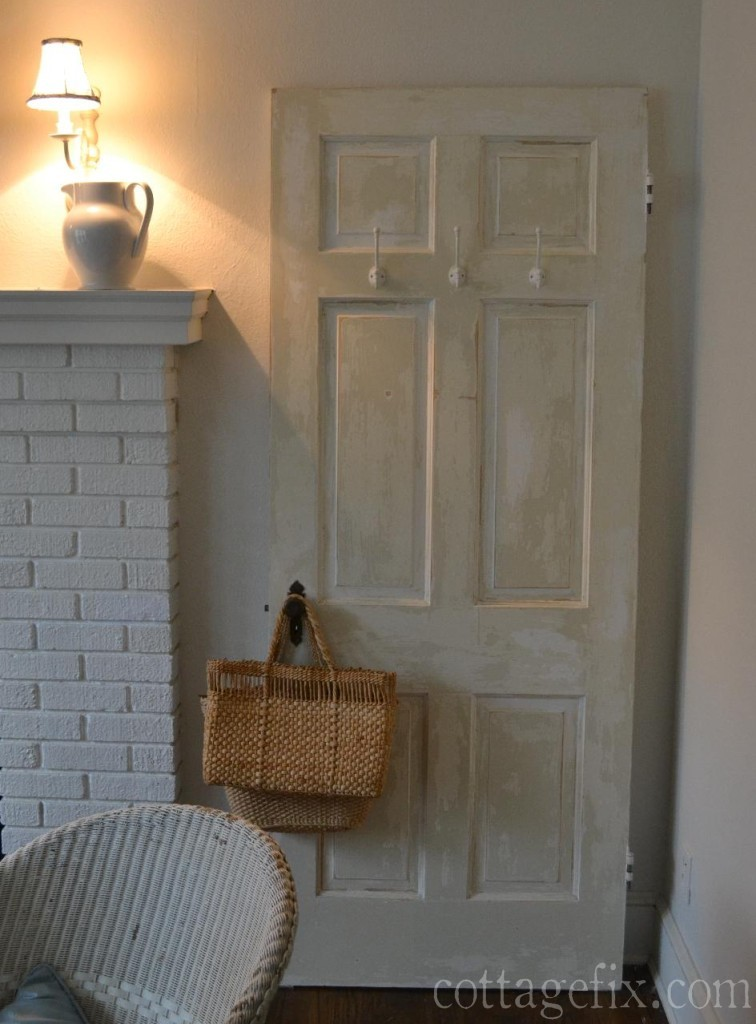 Cottage Fix blog - chippy paint door project