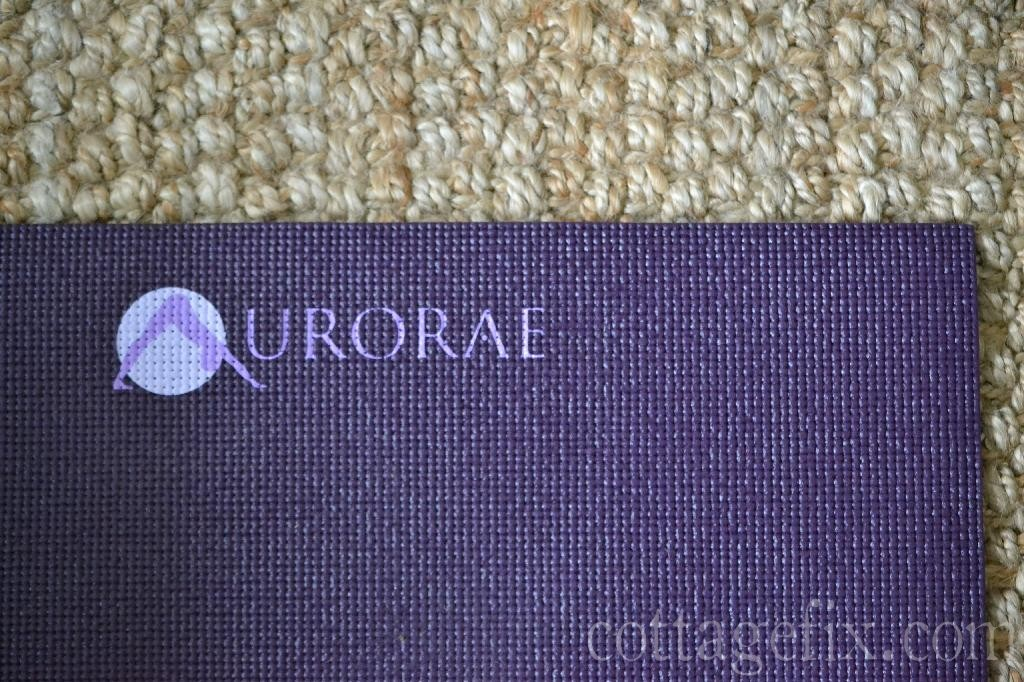 Cottage Fix blog - Aurorae Impression Yoga Mat