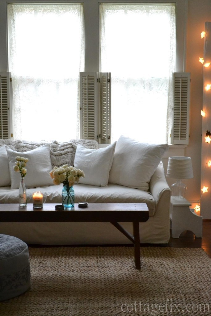 Cottage Fix blog - linen pillow covers from H&M