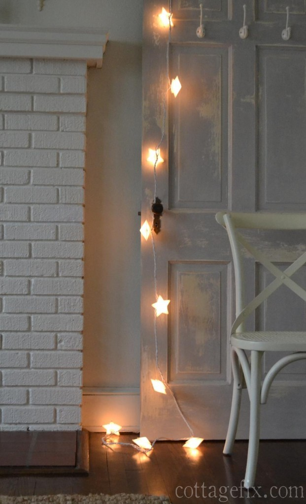 Cottage Fix blog - bright stary lights