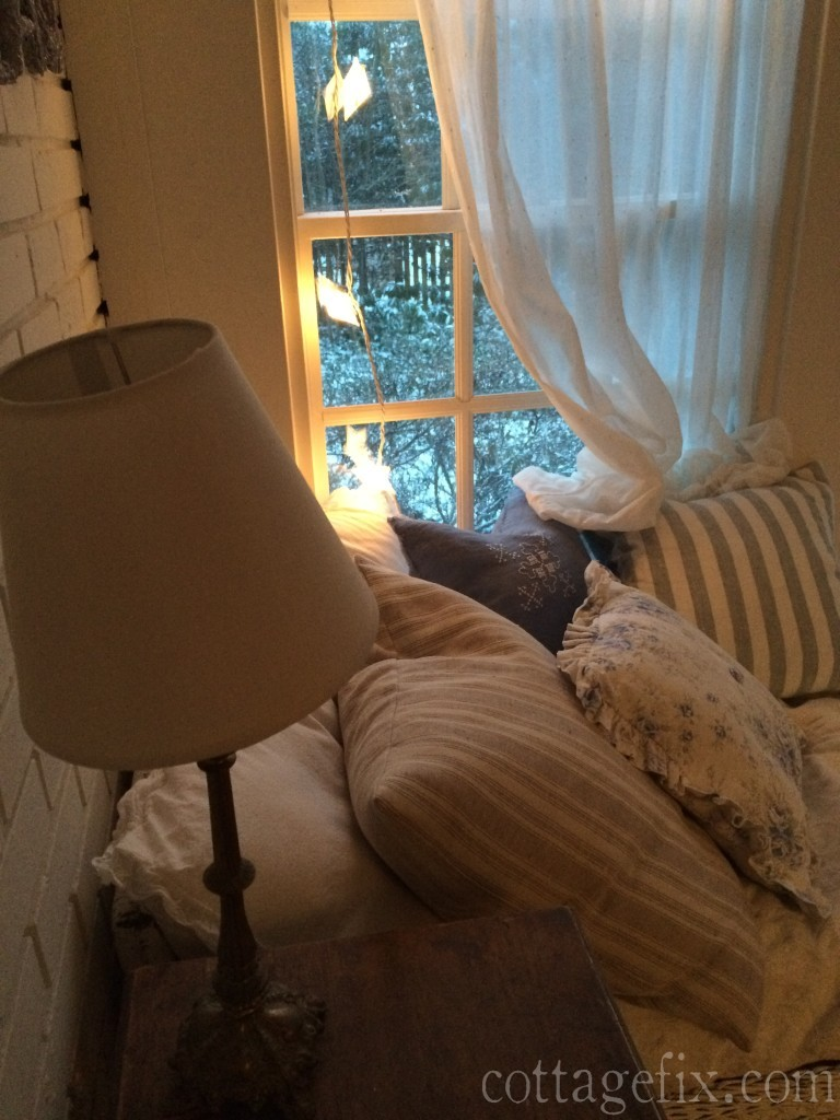 Cottage Fix blog - sun porch window