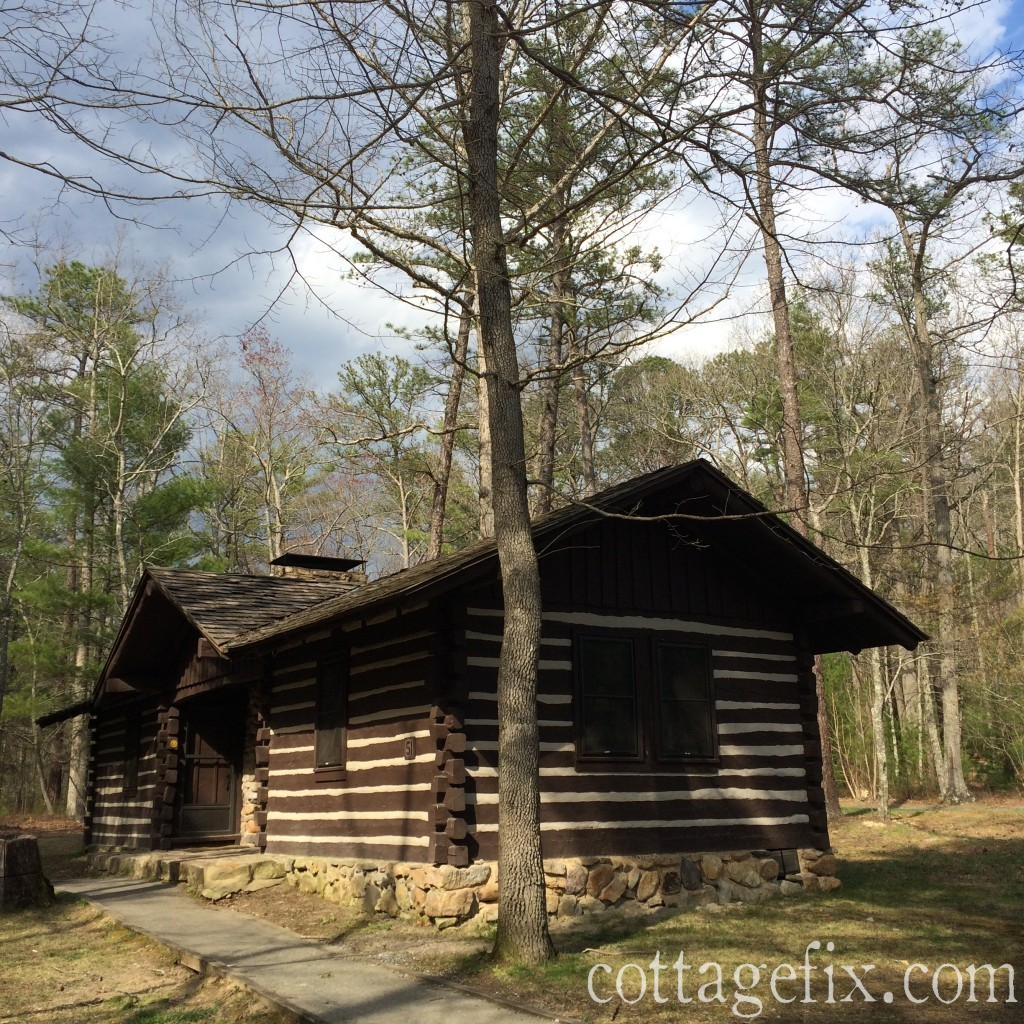 Cottage Fix blog - cabin 23 at Douthat State Park