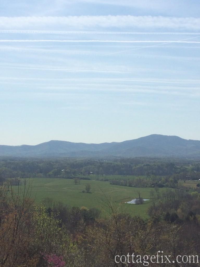 Cottage Fix blog - scenic overlook off 81