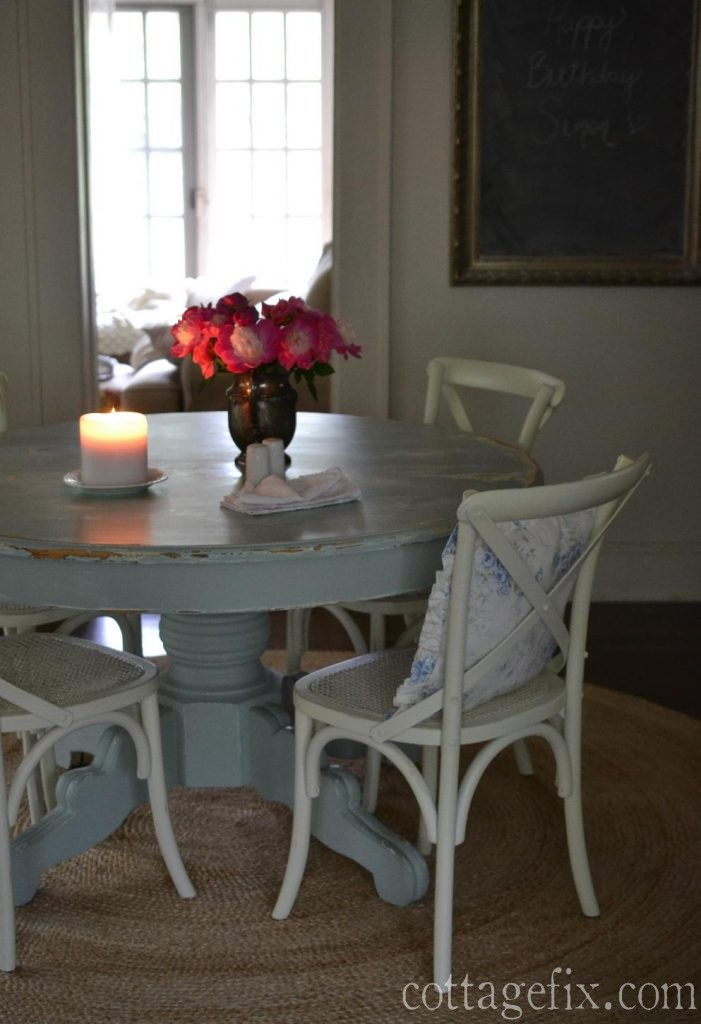 Cottage Fix blog - peony centerpiece