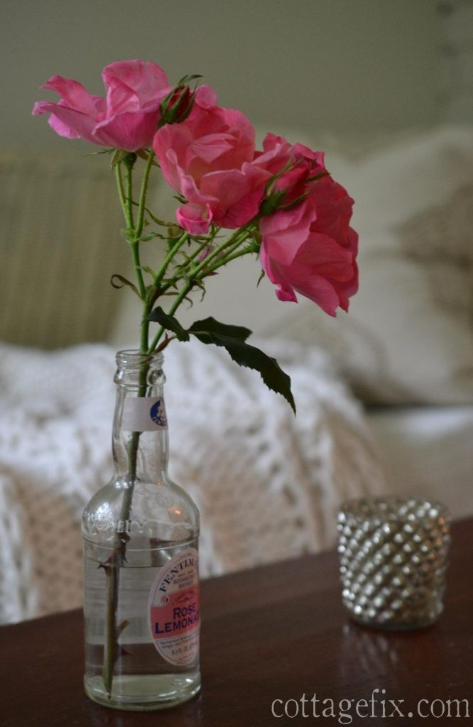 Cottage Fix blog - Friday flowers... roses from the garden