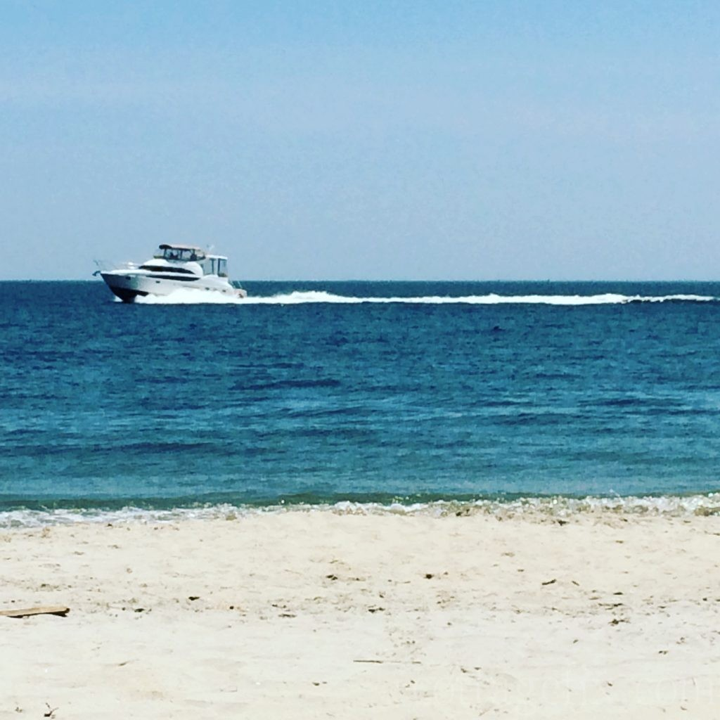 Cottage Fix blog - Fort Monroe beach
