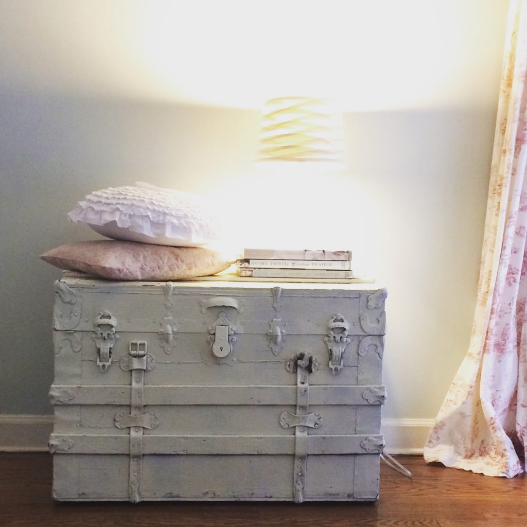 Cottage Fix blog - vintage trunk