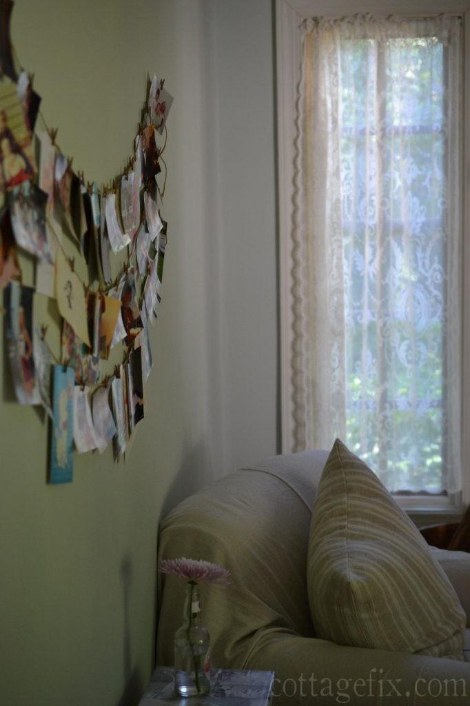 Cottage Fix blog - DIY photo display
