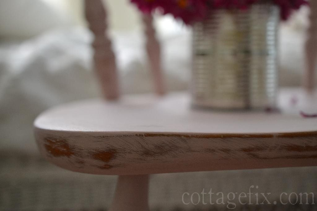 Cottage Fix blog - pink and distressed