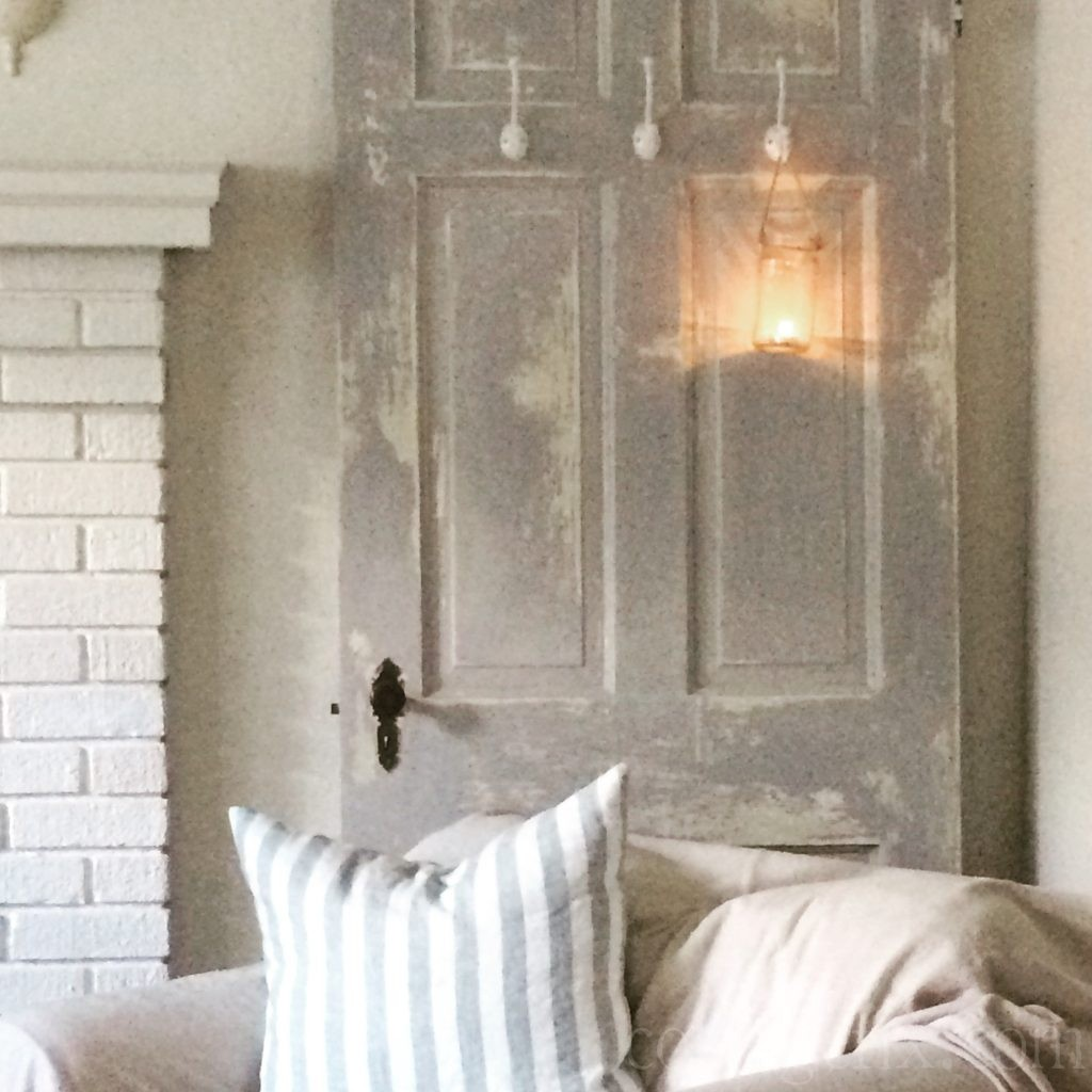 Cottage Fix blog - tea light in a hanging jar