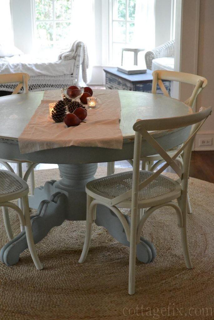 Cottage Fix blog - fall tablescape