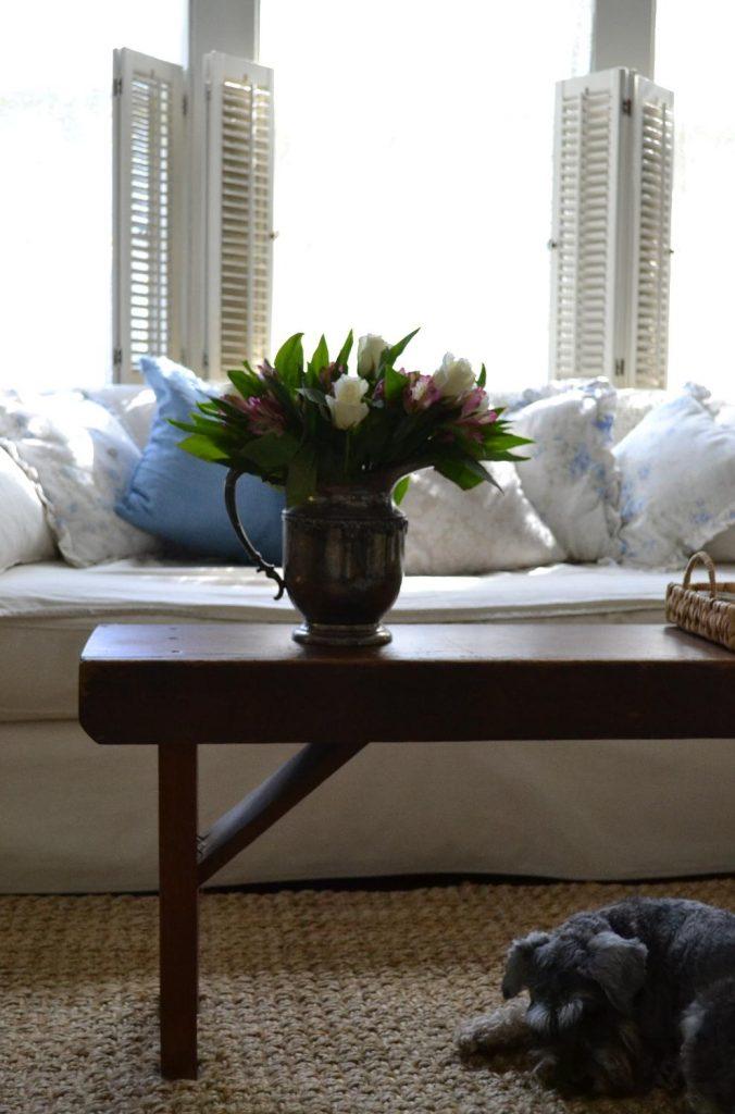 Cottage Fix blog - autumn bouquet