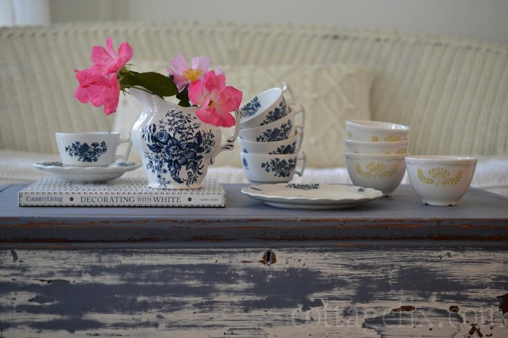 Cottage Fix blog - Booths dishes and Trentwood bowls